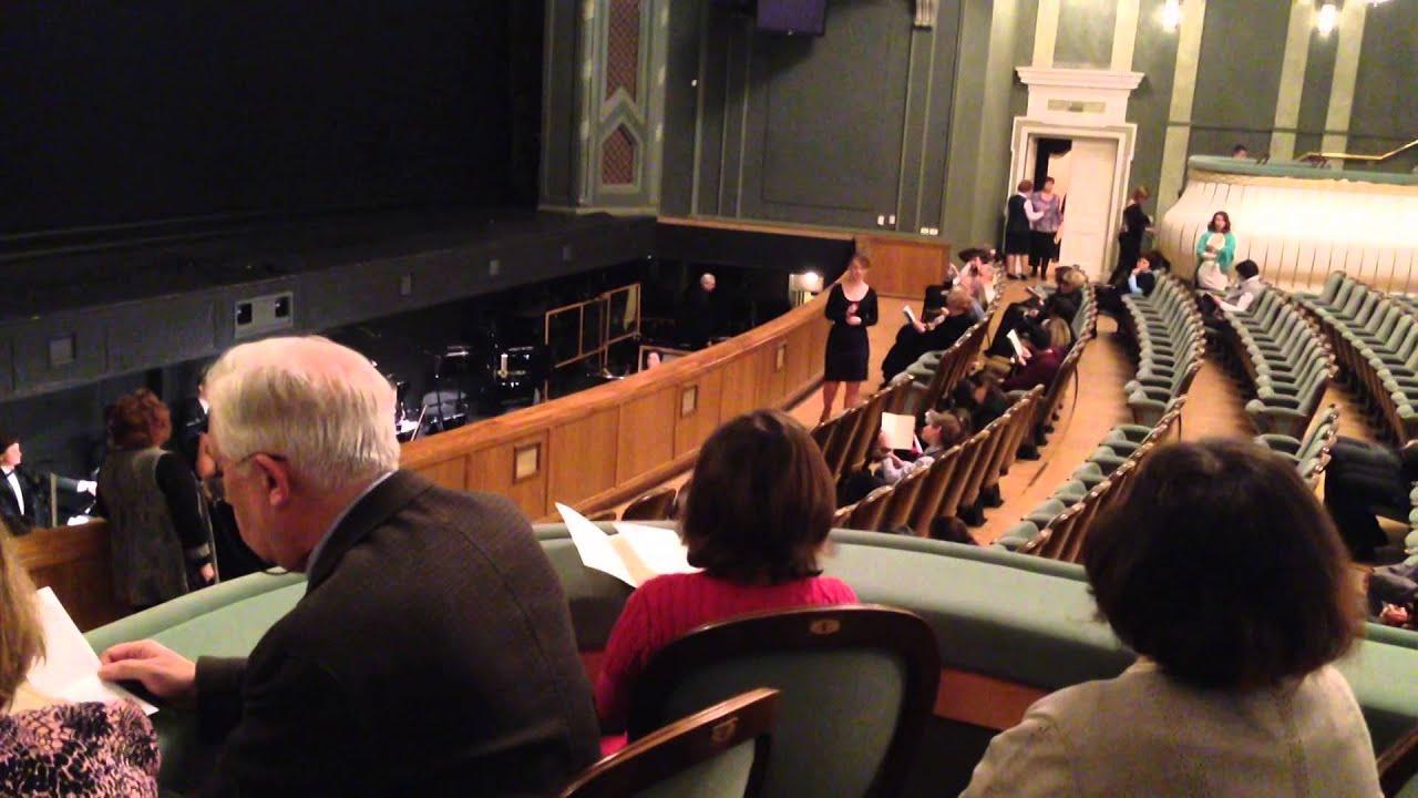 Большой театр, Новая сцена, Обзор зала - YouTube