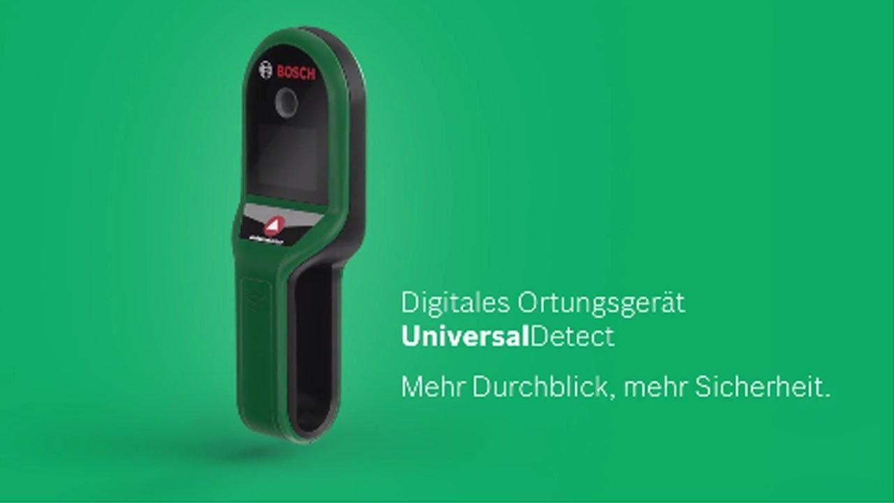 bosch stellt vor: das digitale ortungsgerät universaldetect - youtube