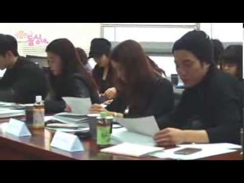 MBC Cunning Single Lady : First script reading - Myungsoo