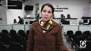 Rose Ielo traz à Câmara demandas de moradores do Bairro Alto e discussão sobre CAPS-I.