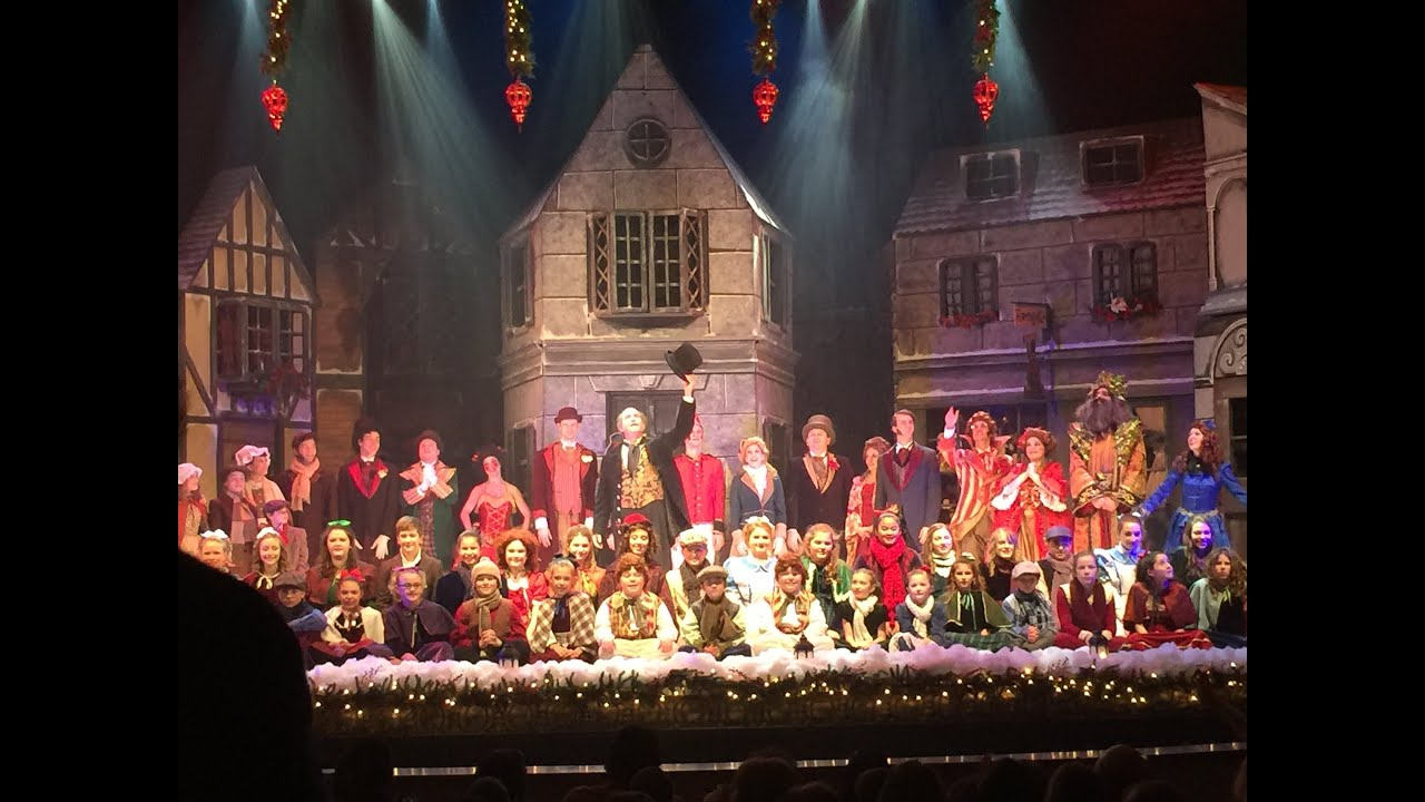 A Christmas Carol at the Palace Theatre - YouTube