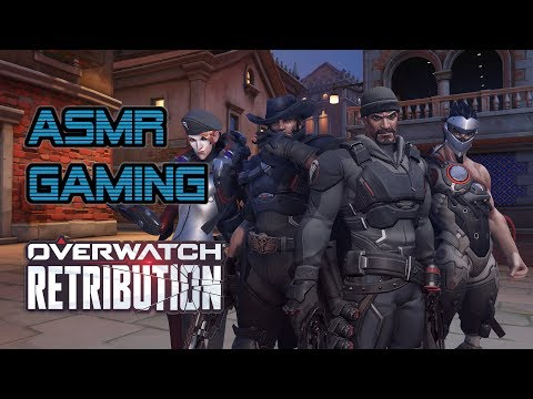 ASMR Gaming | Overwatch Retribution + Opening Lootboxes ★Controller Sounds + Soft Spoken Whispering☆