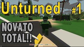 Unturned #1: PRIMER CONTACTO - Gameplay Español