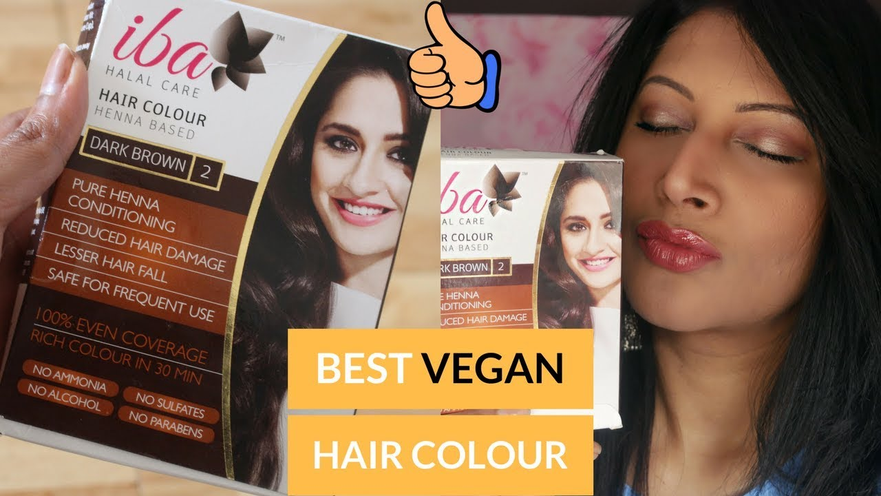 Iba Halal Hair Colour Review Best Chemical Free Hair Colour