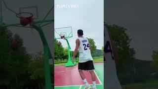 Slam Dunk! Check out this basketball choreography! 🏀