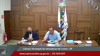 Câmara Municipal de Colina - 1ª Sessão Ordinária 01/02/2021