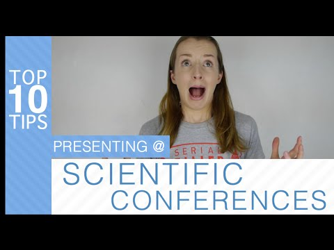Tops Tips: Presenting at a Science Conference (CSF Edition)