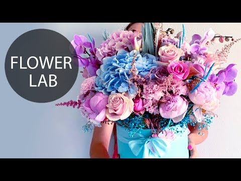 DIY Giant Flower Box | How to make GIANT Bouquet