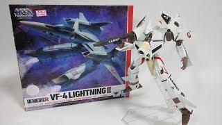 【マクロス玩具レビュー】バンダイ HI-METAL R  VF-4 ライトニングⅢ  /   BANDAI HI-METAL R  VF-4 LIGHTNING Ⅲ