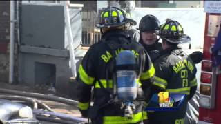 Toddler dies in Baltimore house fire