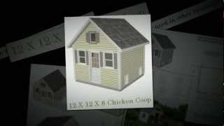 12 X 12 X 8 Chicken Coop Plan, Chicken Coop