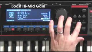 juno gi effects sound check electric piano