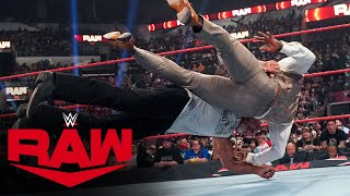 Goldberg hits Bobby Lashley with a massive Spear: Raw, Aug. 16, 2021