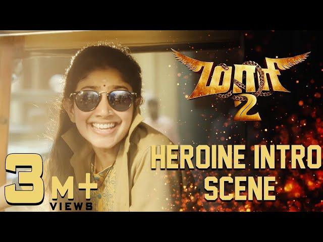 Maari 2 - Heroine Intro Scene   Dhanush   Sai Pallavi   Krishna   Tovino Thomas
