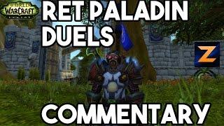 Legion Ret Paladin Duels 7.1 Big Burst Ranged Build! | WoW PvP - Zukon
