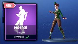*NEW* POP LOCK DANCE EMOTE! New Emote In Fortnite!