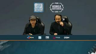 PUBG Korea Contenders Day 9