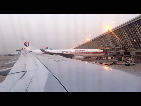 China Eastern MU582 from Vancouver (YVR) to Shanghai Pudong (PVG) - Economy Class Report