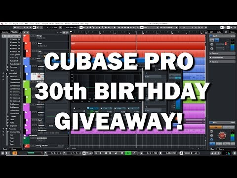 Cubase 30th Birthday Giveaway!
