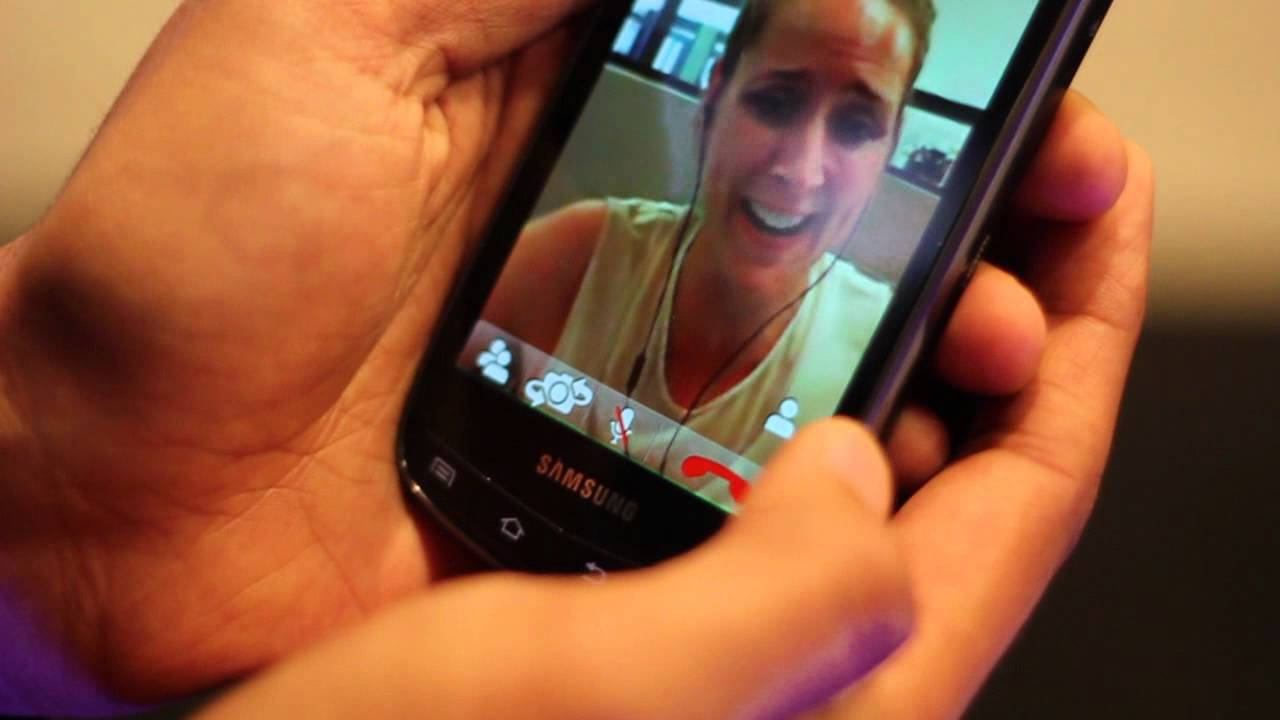 Phone Oovoo For Android Phone oovoo multi party hd video chat for android youtube android