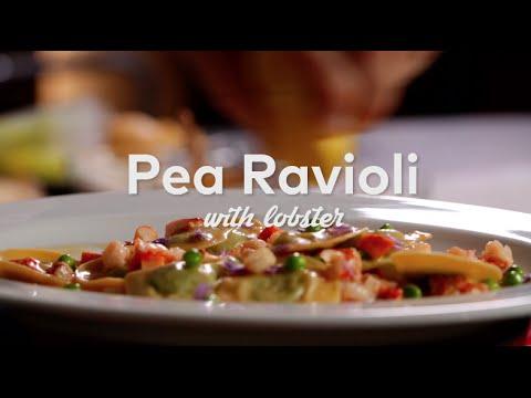 Pea Ravioli with Lobster | Cooking | Tasting Table