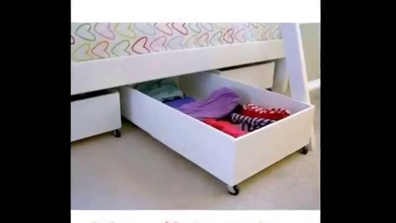 Espacio bajo tu cama youtube - Camas con cama debajo ...