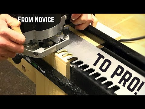 How To Set Up A Dovetail Jig - How It Works, Perfect Results From Now On!
