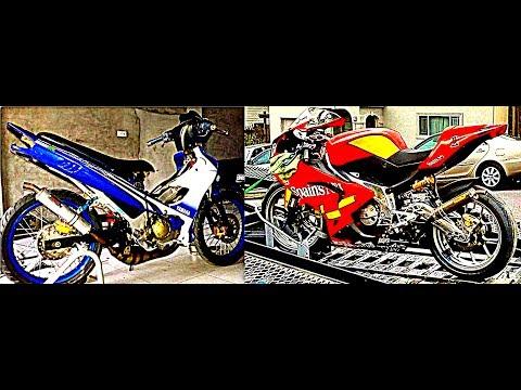 PERFORMANCE MOTOR POWER VALVE vs NON-POWER VALVE (YAMAHA 125Z/ZR VS APRILIA RS125)