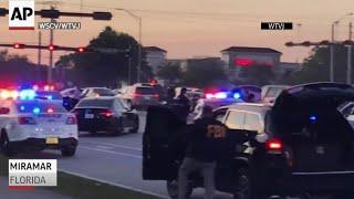 WATCH: Florida UPS Truck shootout captured on video