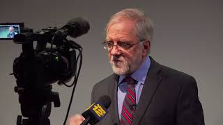 On announcing his campaign for President, Howie Hawkins speaks to News 12 Brooklyn NYC
