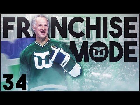 "NHL 18 - Hartford Whalers Franchise Mode #34 ""Big Fish"""
