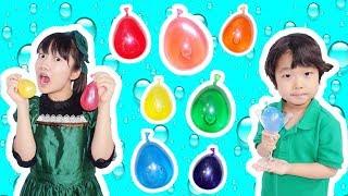撮影場所:YouTube Space Tokyo 食べれる7色のレインボー水風船を作り...
