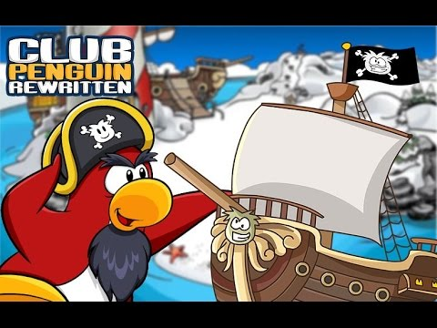 Club Penguin Rewritten: Migrator Arrives to Island - YouTube
