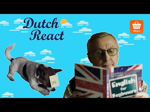 Dutch React to English For Beginners