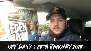 Eden Hazard To City For £150M | Klopp Running Out Of Ideas | Masuaku's 6 Match Ban | UFF Daily