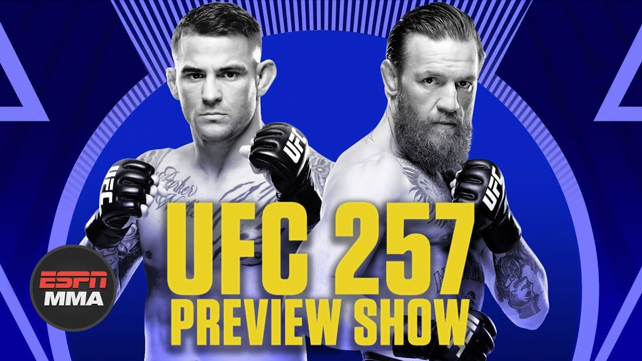 UFC 257 Preview Show | Ariel & The Bad Guy Live | ESPN MMA - download from YouTube for free