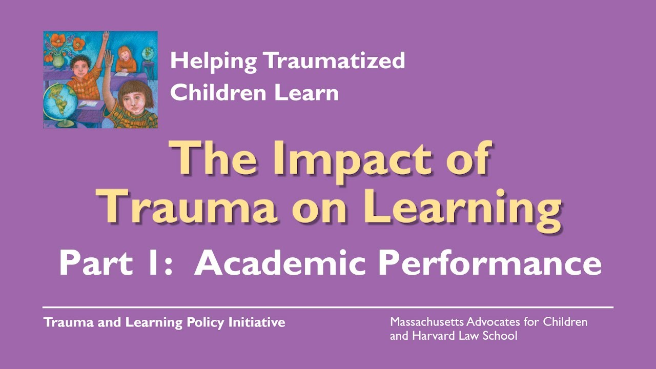 How Emotions Affect Learning Behaviors >> The Problem Impact Trauma Sensitive Schools