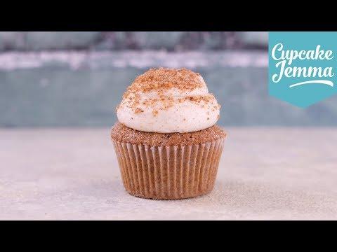 My Recipe For Cinnamon Toast Cupcakes | Cupcake Jemma