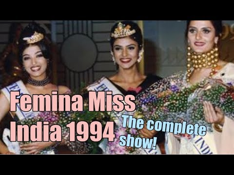 Femina Miss India 1994 - The Complete Show