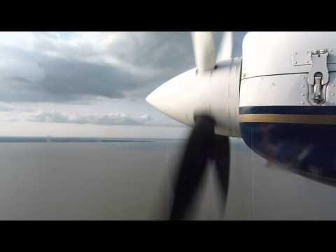 Flight Britten Norman Islander BN2B FLN Juist to Norden