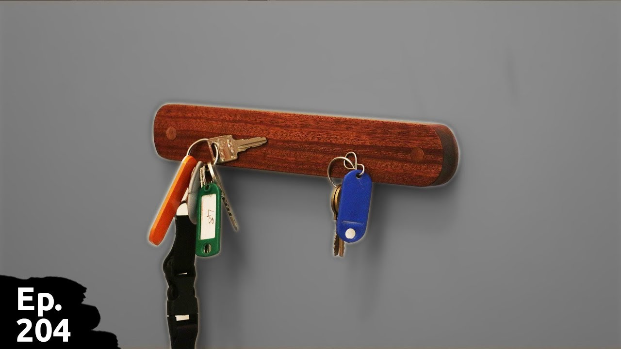 5d8ae329032 Fabrication d un super rangement pour clef aimanté en bois - Ep204 ...