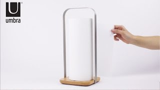 PILA Paper Towel Holder | UMBRA