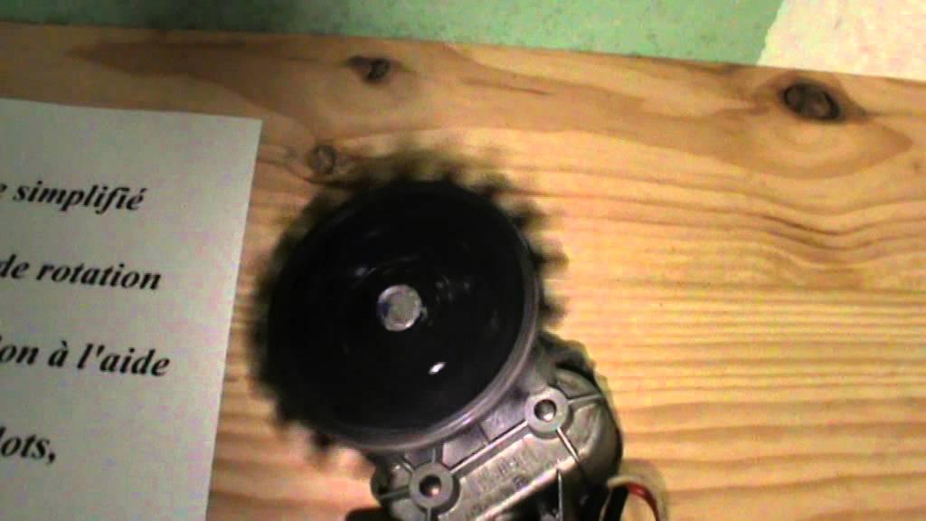 Comment inverser le sens de rotation d 39 un moteur basse - Transformateur 220v 12v pour lampe halogene ...