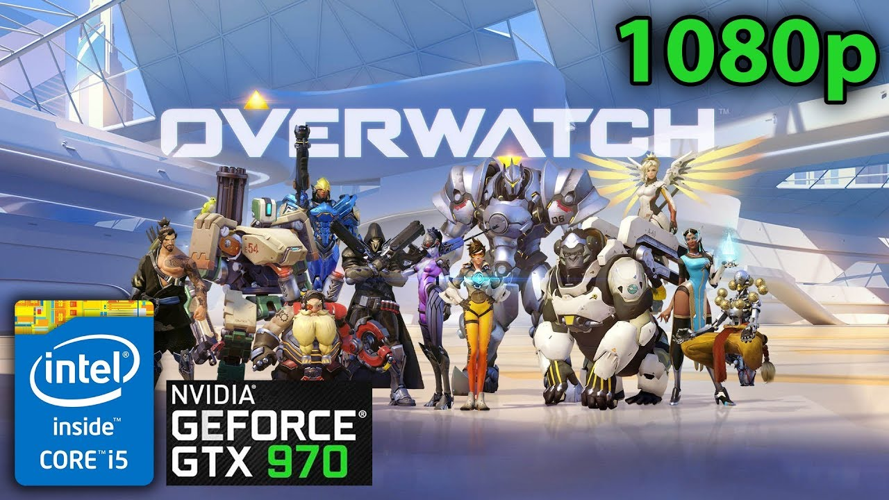 Overwatch | GTX 970 4GB - i5 4690K - 1080p 144hz Gameplay (Epic)