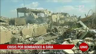 Fábricas de armas químicas fueron los objetivos en el bombardeo en Siria