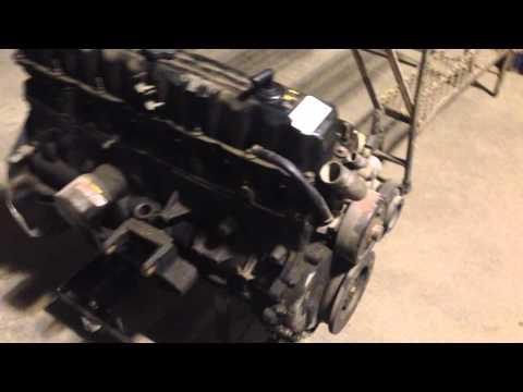 2006 Jeep Wrangler 4.0 Engine Runs Motor Mount broke off For Sale W/38K