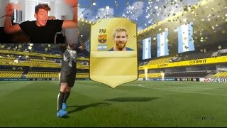 OMFG MESSI IN A PACK (Fifa 17 BEST Pack Opening s)