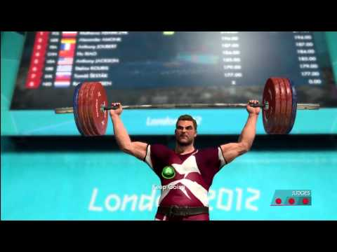 Men's Weightlifting Over 105kg  | London 2012:The Olympic Games | XBOX 360 | Hard