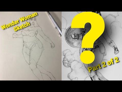 Plus Size Model as a Anime Wonder Woman part 2 of 2