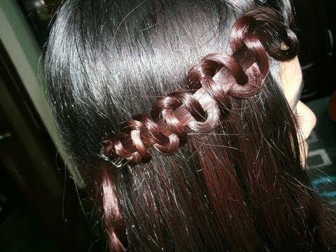 How To Snake Braid Hair Tutorial Youtube